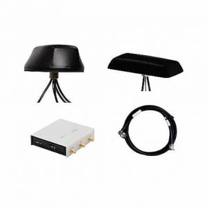 Vehicle LTE router and antenna bundles